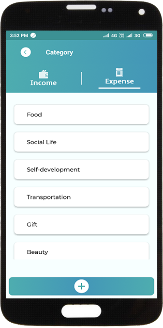 Manage your categories