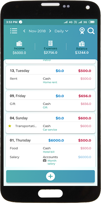 Single Expense - View your transaction